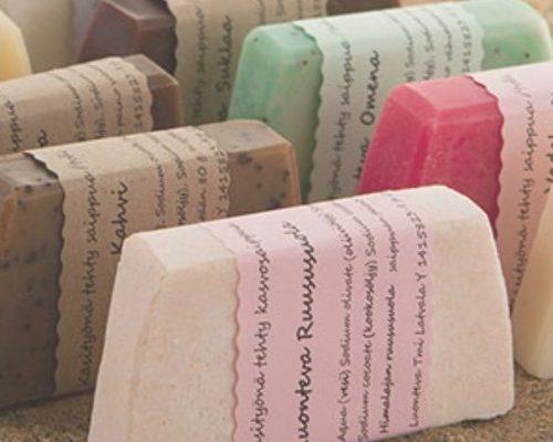 Luonteva- käsintehdyt saippuat