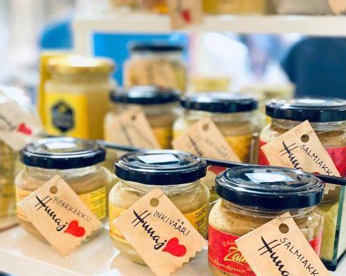 Wiluluodon hunajaa