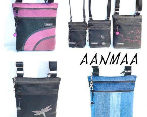 Aanmaa- Yksilöllinen ja erittäin käytännöllinen Aanmaa laukku valmistuu käsityönä saaristolaistunnelmissa, Taalintehtaan kylässä, Kemiönsaarella.